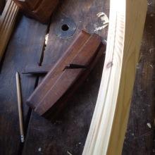 Compass sash moulding plane